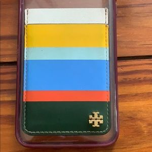 Phone Case with Tory Burch Pocket
